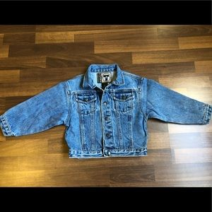French Toast Jeans jacket Youth 4t Blue Wash